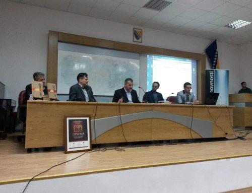 """Izlaganje prof. dr. Armina Hadrovića na promociji knjige """"Osnove islamske filozofije"""""""