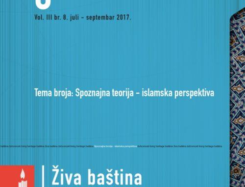 Prikaz knjige: Spoznaja – prva vrijednost islama autora Rešid Hafizović